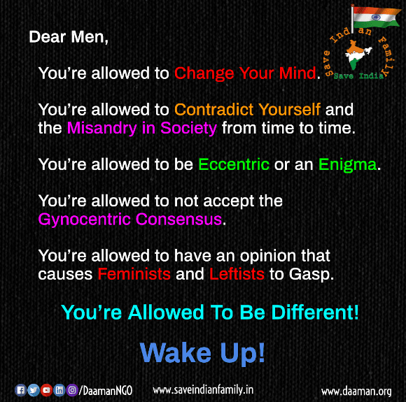 Dear Men, You're Allowed To Be Different, Please Wake Up