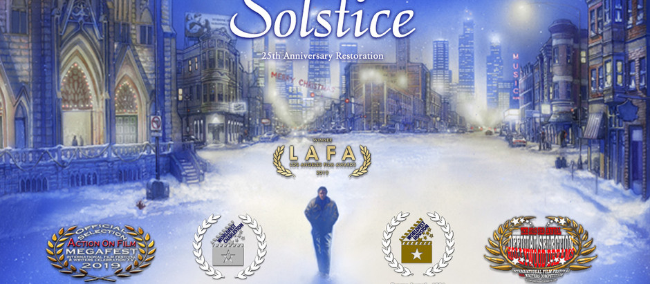 """""""Solstice"""" Available on Amazon Prime November 27th!"""
