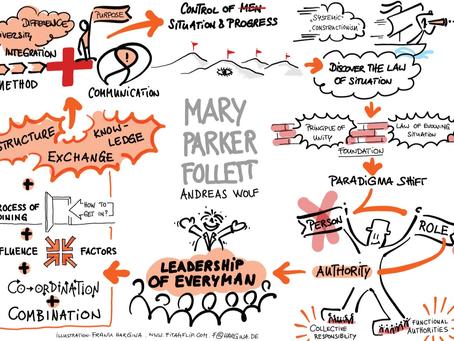 """""""Leadership of Everyman"""" – Mary Parker Follett's Komplexitätsbewusstsein für unsere verrückte Zeit"""