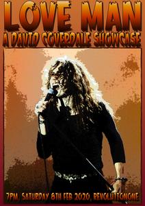 David Coverdale Showcase promo for revolutionradio.online