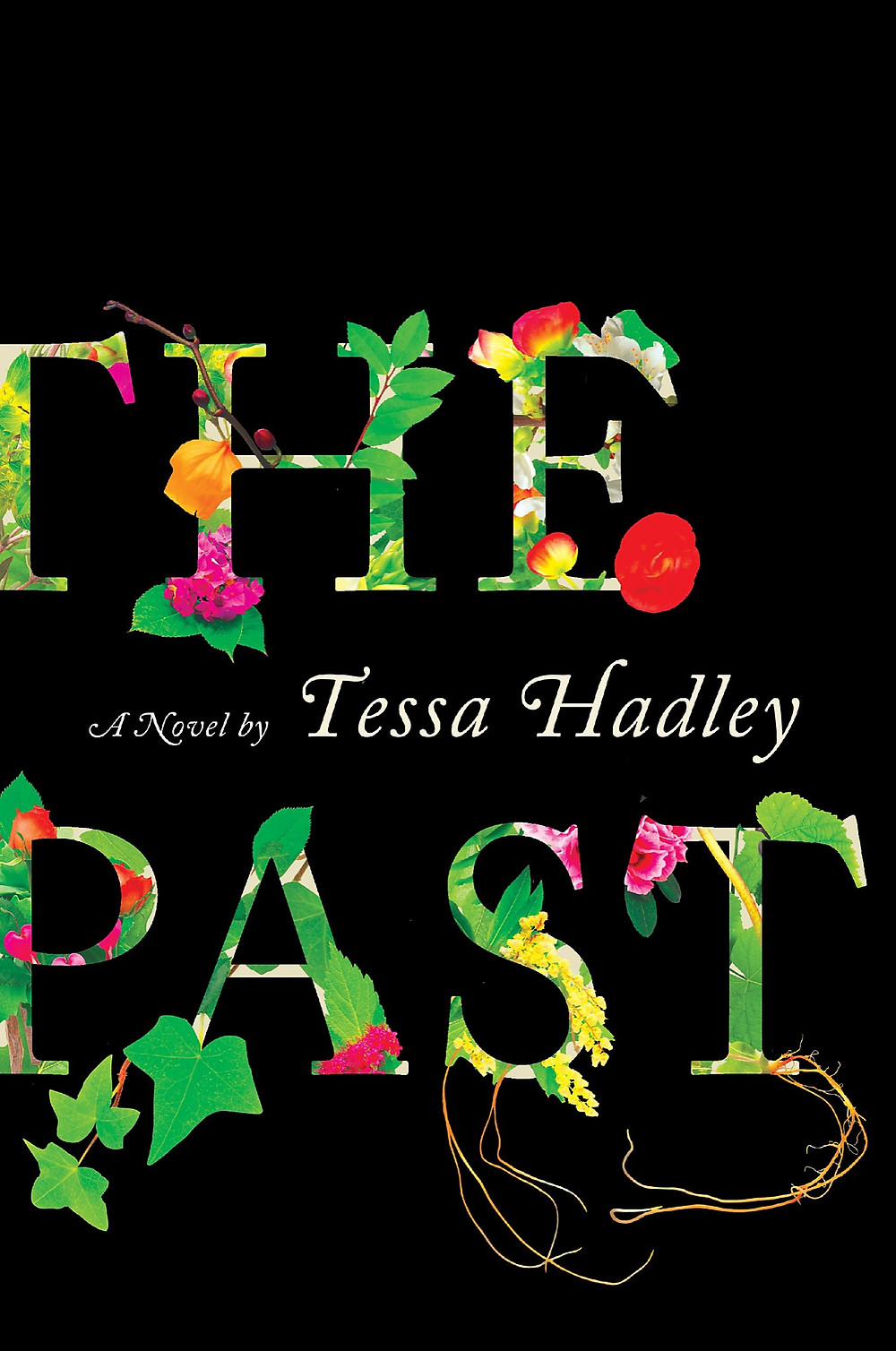 The Past by Tessa Hadley : the book slut book reviews thebookslut best floral book covers valentines day books