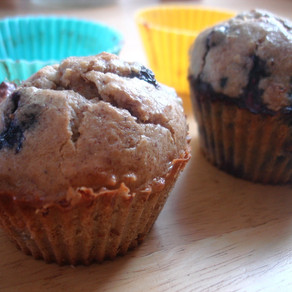 Simply Blueberry Muffins