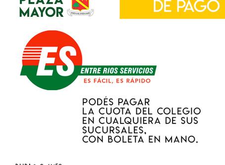 MEDIOS DE PAGO HABILITADOS
