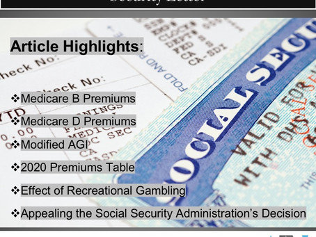 Understanding Your Annual Social Security Letter
