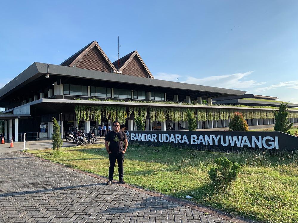 Bandar Udara Banyuwangi Karya Arsitek Andra Matin