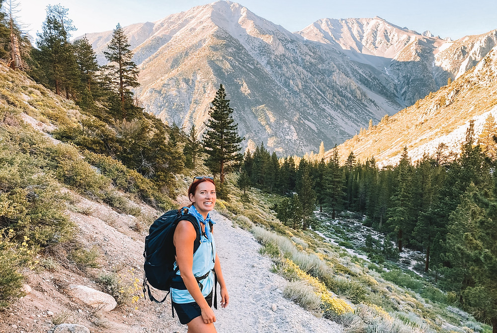 Big Pine Lakes Trail, Inyo National Forest
