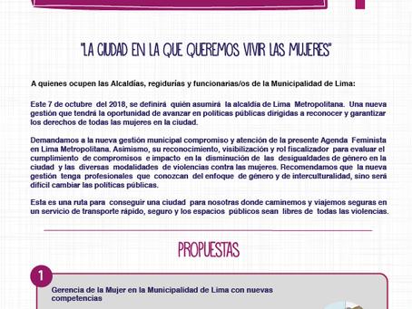 Agenda Feminista para Lima Metropolitana