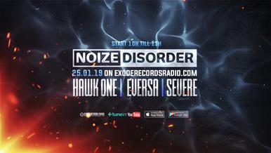 Tomorrow on Exode Records Radio [Noize Disorder]