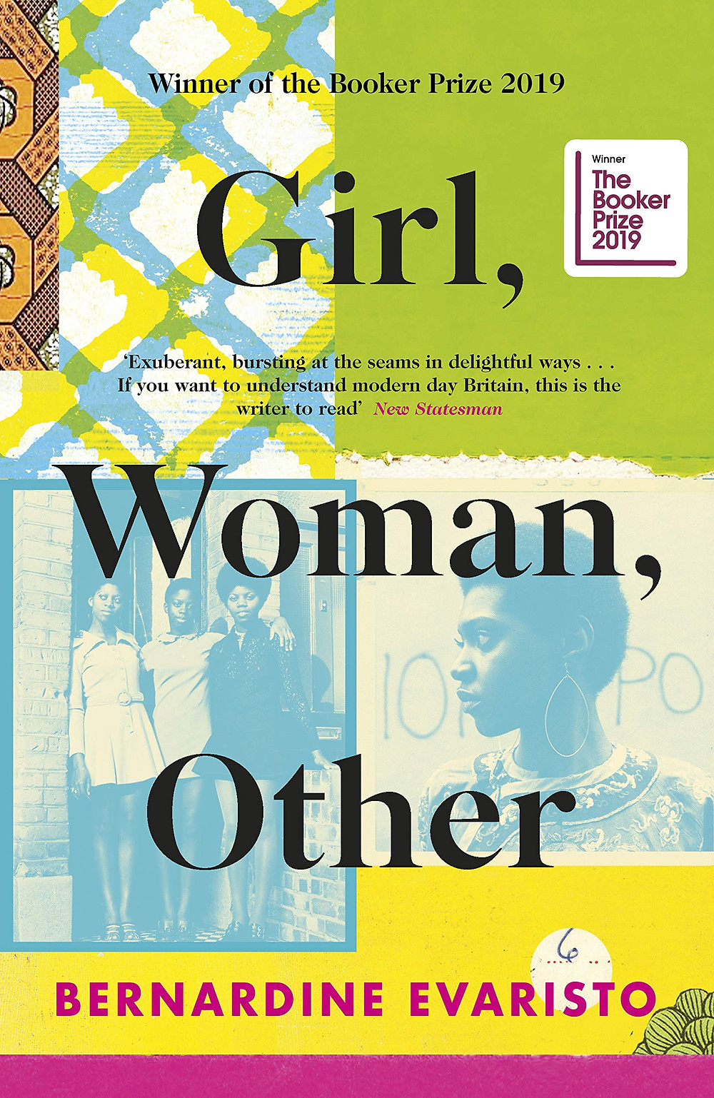 Girl, Woman, Other by Bernadine Evaristo : the book slut book reviews thebookslut