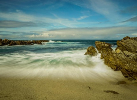 Tide Flowing Out-Pacific Grove