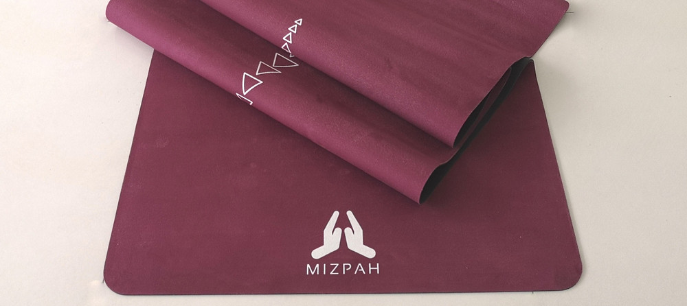 Mizpah suede mat