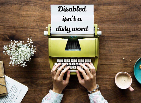 Disabled isn't a dirty word