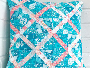X Foundation Paperpieced Cushion Tutorial