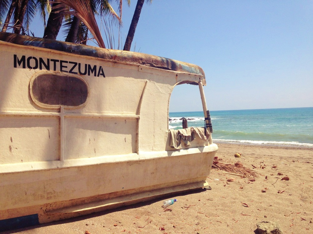    MONTEZUMA bateau costa rica