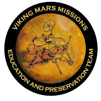 The Viking Mars Missions Education and Preservation Project logo.    © The Viking Mars Missions Education & Preservation Project (VMMEPP).