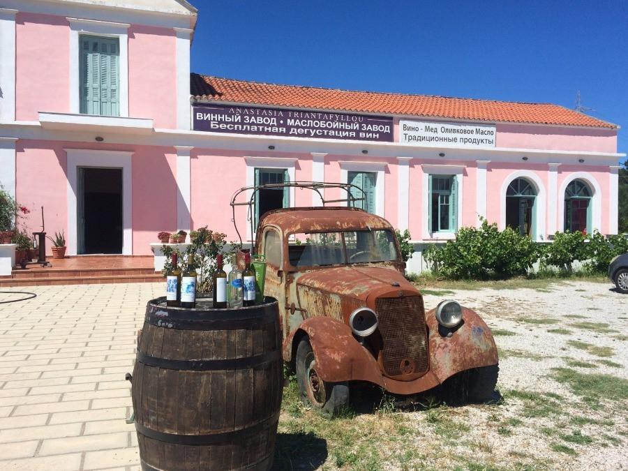 דרך היין רודוס, היקבים של רודוס