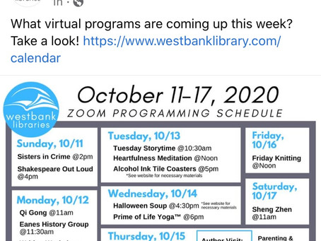 Westbank Programs this Week