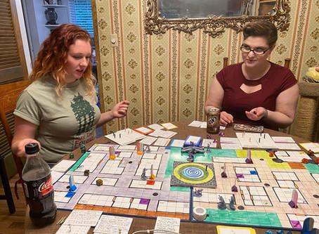 Dex Dixon Board Game Progress