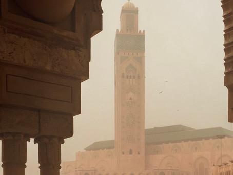 Arrival in Casablanca
