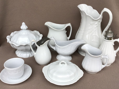 White Ironstone China