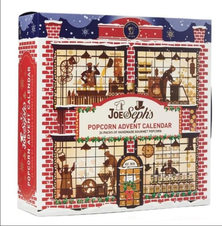 Joe & Seph's popcorn advent calendar