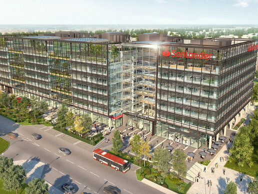 Byrne Group selected to construct Santander Scheme in Milton Keynes