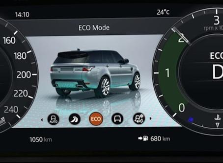 Изменение внешнего вида приборной панели Range Rover и Range Rover Sport с 2018MY
