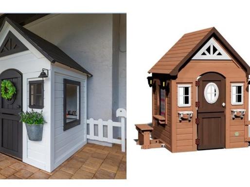 Backyard Discovery Aspen Wooden Cedar Playhouse Makeover