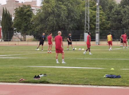 Prosiguen los entrenamientos de pretemporada del CP Villarrobledo