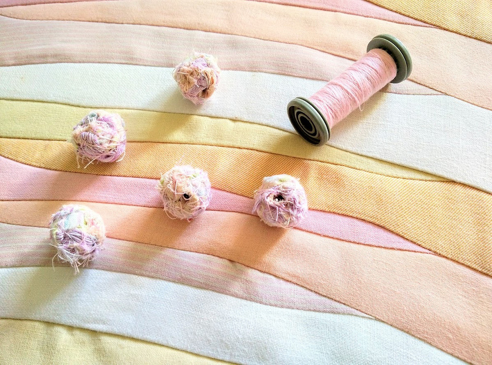 Ice cream beads and sherbet waves