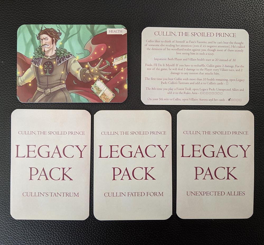 Deck of Wonders Legacy Packs