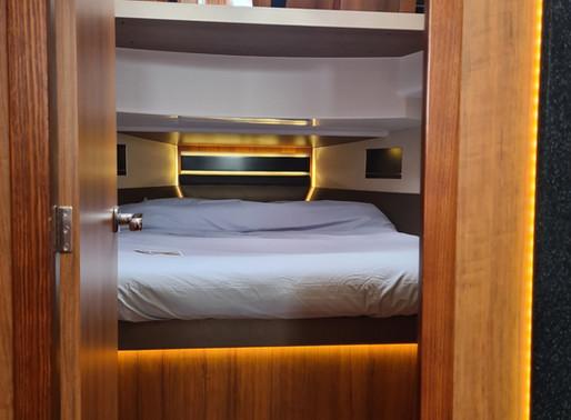 eerlijk, duurzaam, luxe  // een goede nachtrust aan boord van de northman 1200