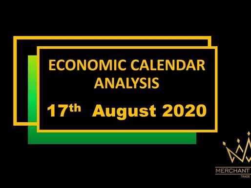 Merchant Economic Calendar | AUGUST 17, 2020