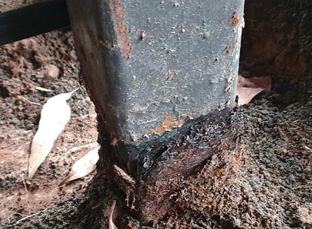 Steel Post Repair