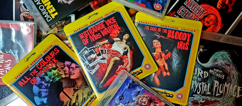 To dig deeper into the italian horror cinema and the giallo genre...