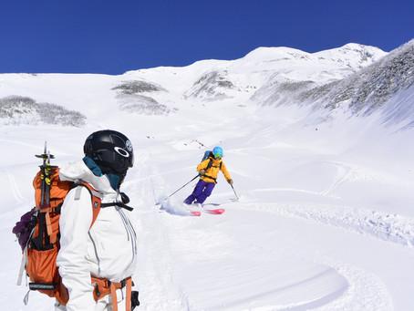初滑り立山バックカントリー