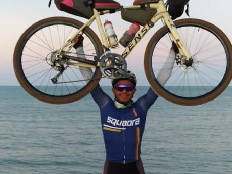 Ciclista percorre o mundo e passa pelo RN