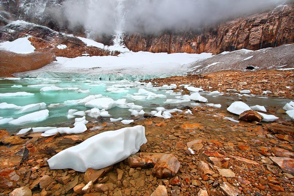 fonte de glace , lac ,