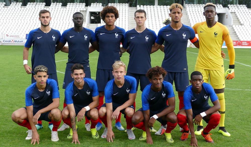 Lévi Ntumba et Théo Barbet France U18