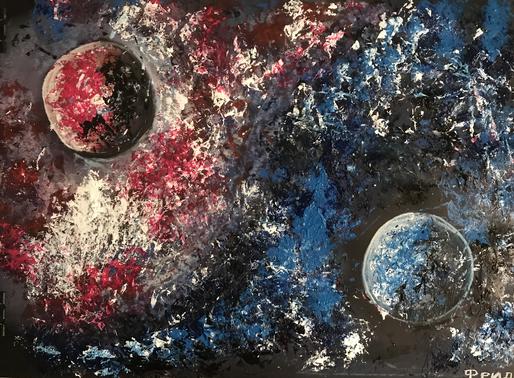 """Фрида Шутман. """"Эффект Соляриса"""".#На Конкурс СРПИ ко Всемирной неделе космоса."""