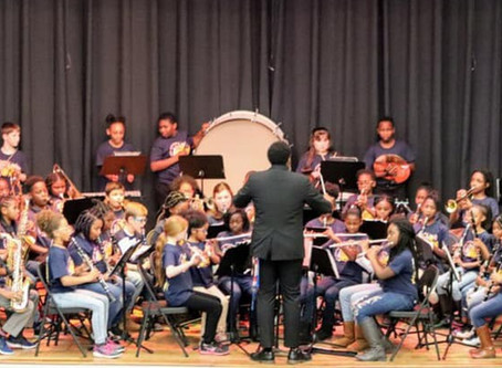 St. John's Elementary School Band hosts their 1st ever Band Concert!