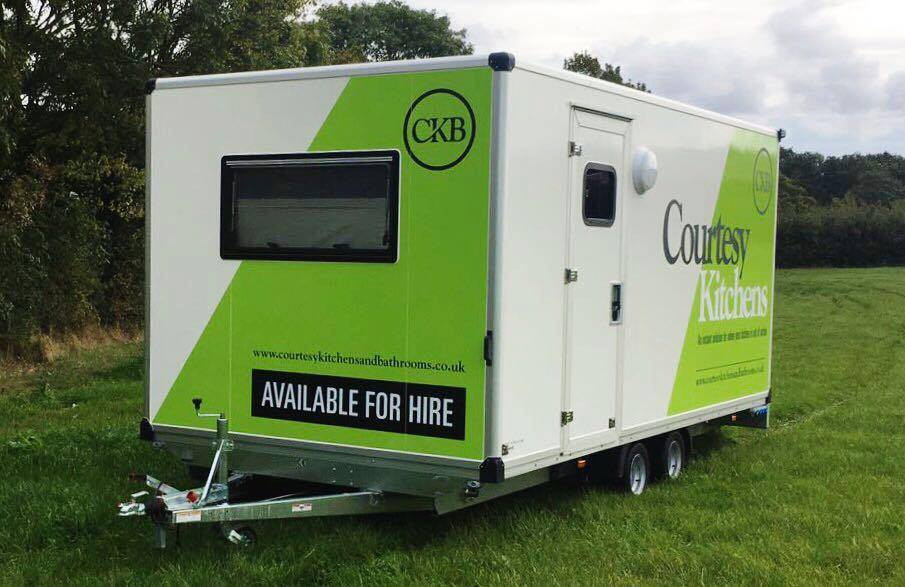 temporary mobile portable kitchen