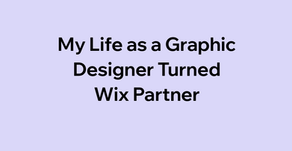 My Life as a Graphic Designer Turned Wix Partner
