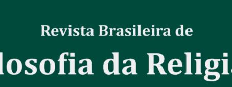 CHAMADA DE ARTIGOS - REVISTA BRASILEIRA DE FILOSOFIA DA RELIGIÃO