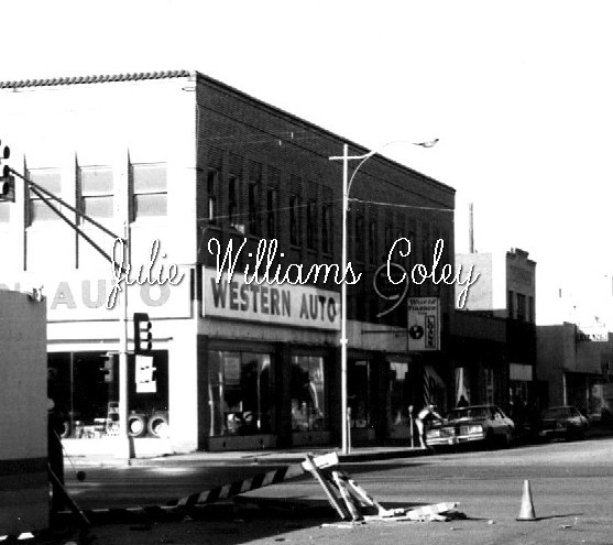 Western Auto 1000 Indiana Ave. 1960's