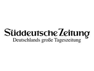 PUBLICATION // Veröffentlichung Süddeutsche Zeitung