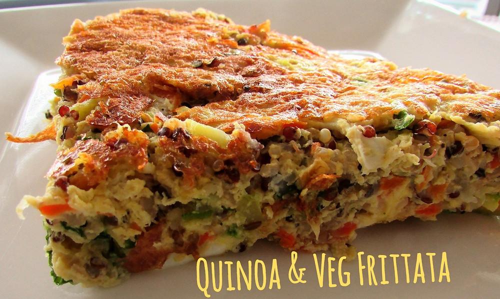 Quinoa & Veg Frittata