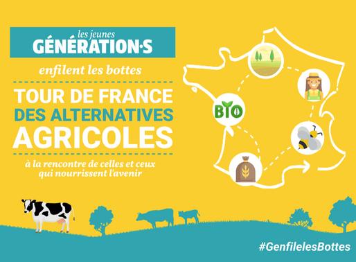 [Dossier] Tour de France des Alternatives Agricoles - Les Jeunes Génération.s enfilent les bottes