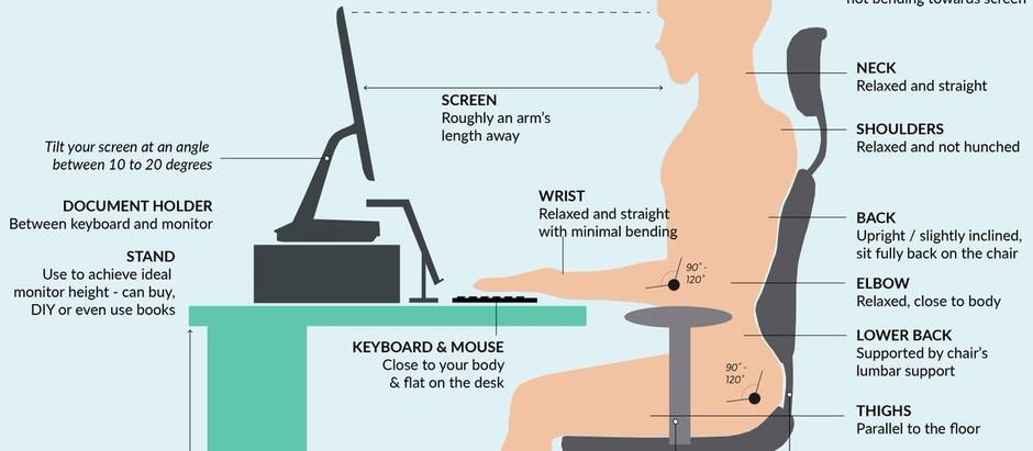 How To Setup An Ergonomic Workspace