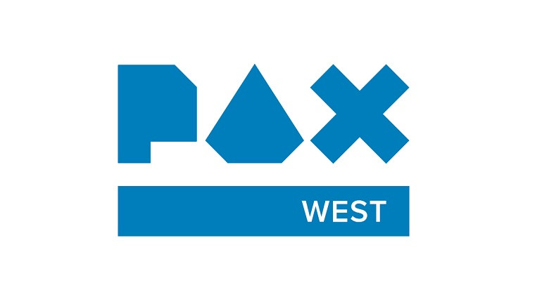 Blue PAX West logo